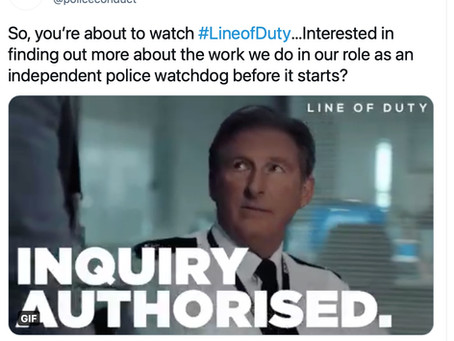 Line of Duty - When life starts to imitate art