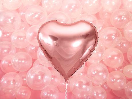 Coeur en foil flottant