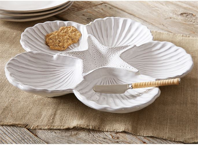 Shell Sectional Platter Set