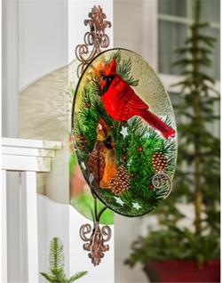 Cardinal Sun Catcher