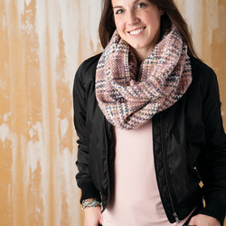 Woven Threads Infinity Scarf