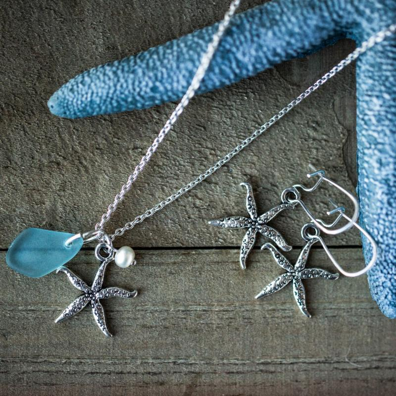 Starfish & Sea Glass
