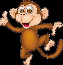 토토몽키의 대표 캐릭터 이미지