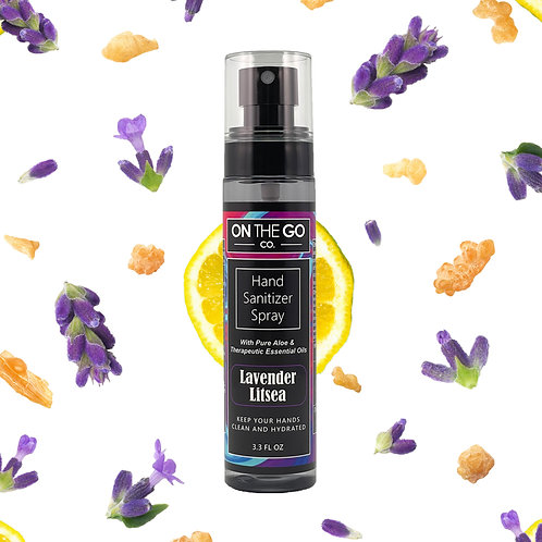 Lavender Litsea Hand Sanitizer