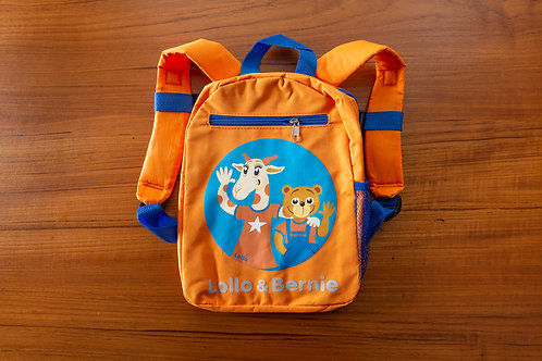 Lollo & Bernie Backpack (Orange)