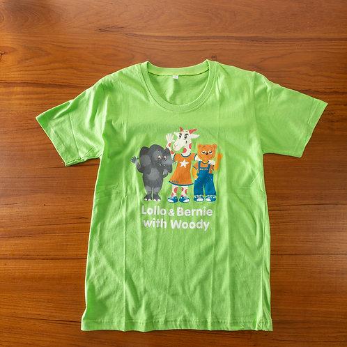 Lollo & Bernie T-shirt (Green)