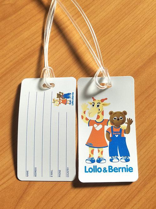 Lollo & Bernie Luggage Tag