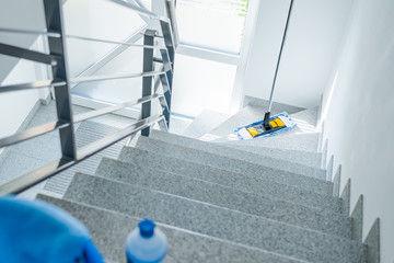 Treppenhaus Reinigung