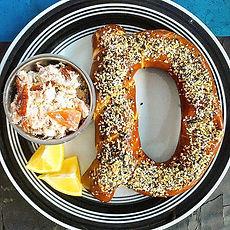 Menu 2020...'everything' pretzel with ho