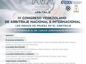 IV Congreso Nacional e Internacional de Arbitraje