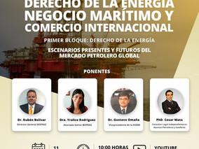 """I FORO VIRTUAL """"DERECHO DE LA ENERGÍA, NEGOCIO MARÍTIMO Y COMERCIO INTERNACIONAL"""", SEGUNDO BLOQUE"""