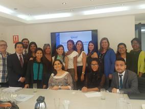 REUNIÓN ENTRE LA COMISIÓN DE EGRESADOS UNIVERSITARIOS DE LA ASOCIACIÓN VENEZOLANA DE DERECHO MARÍTIM