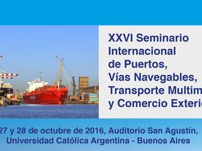 SEMINARIO INTERNACIONAL DE PUERTOS, VÍAS NAVEGABLES, TRANSPORTE MULTIMODAL Y COMERCIO EXTERIOR-ARGEN