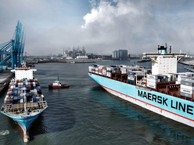 ¿En qué puntos de los océanos se encuentran navegando los buques de la flota mercante mundial?