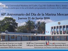 60° ANIVERSARIO DE LA CELEBRACIÓN DEL DÍA DE LA MARINA MERCANTE