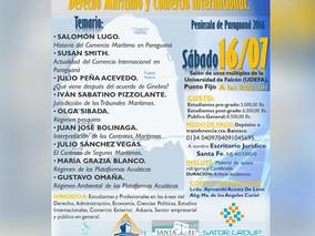 PRIMERAS JORNADAS REGIONALES DE ACTUALIZACIÓN DE DERECHO MARÍTIMO Y COMERCIO INTERNACIONAL Península
