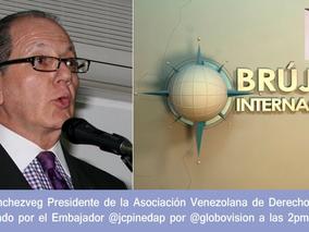 """El Presidente de la AVDM es entrevistado en el programa """"Brújula Internacional"""""""