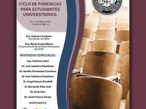 """Reseña """"Ciclo de Ponencias para Estudiantes Universitarios"""""""