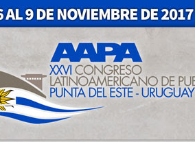 XXVI CONGRESO LATINOAMERICANO DE PUERTOS  Punta del Este Uruguay 6 al 9 de noviembre