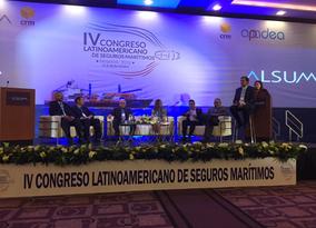 IV Congreso Latinoamericano de Seguros Marítimos.