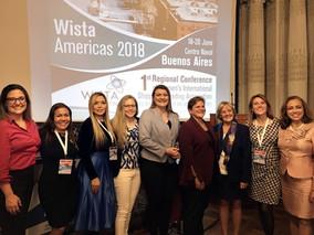 Formalización de WISTA Venezuela, como miembro de la Organización Internacional de Mujeres WISTA