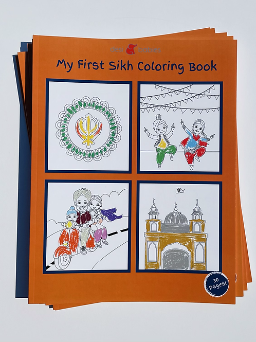 My First Sikh Coloring Book