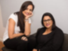 Desi Babies was co-founded by Mital Telhan (left) and Reena Puri (right)