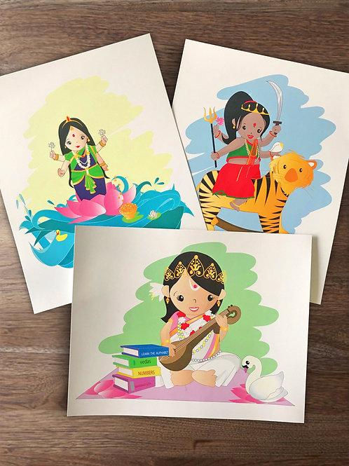 Goddess Trio Collection