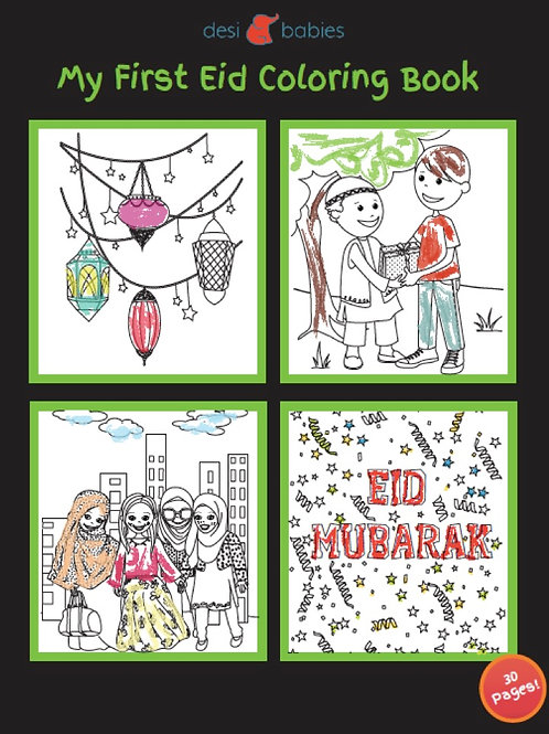 My First Eid Coloring Book