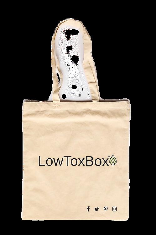 Large Natural LowToxBox® Tote Bag