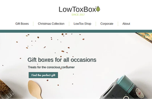 LowToxBox New Website