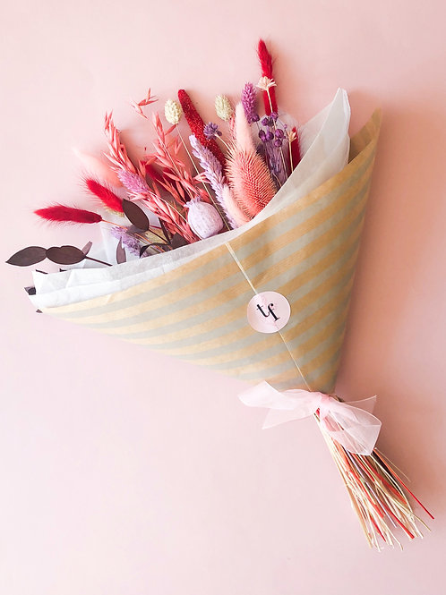 Dried-Flower Bouquet | Colourful