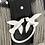 Thumbnail: PINKO MINI LOVE BAG METAL FRINGES