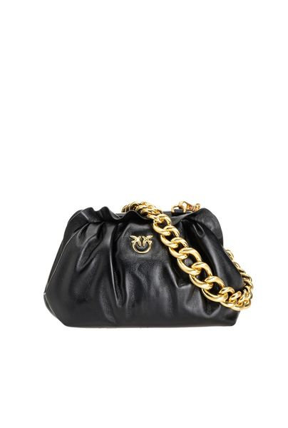 PINKO КЛАТЧ MINI CHAIN CLUTCH BAG FRAIMED