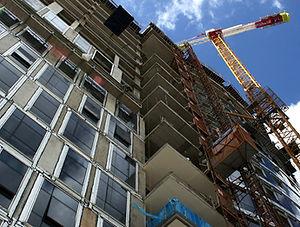 Commercial building, real estate brokerage servics