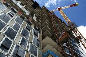 Im Bau befindliches Gebäude 5