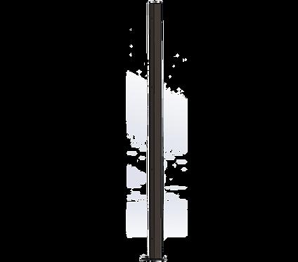 Poteau Droit 1500mm Coloris Brun Sépia