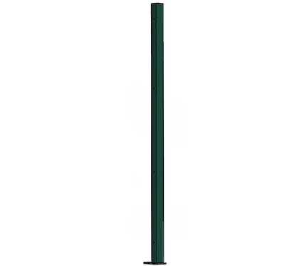 Poteau Droit 1500mm Coloris Vert Mousse