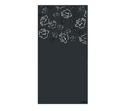 "Design ""CAMELLYA"" Semi-Ajouré 1750x900mm"
