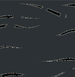 Motif Algue- ajouré