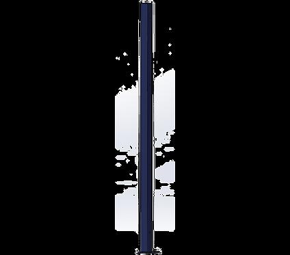 Poteau Gauche 1500mm Coloris Bleu Saphir