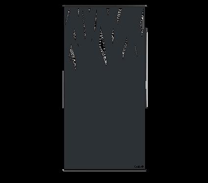 """Design """"GRASS"""" Semi-Ajouré 1750x900mm"""