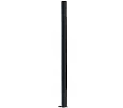 Poteau Droit 1500mm Coloris Gris Anthracite