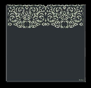 "Design ""ARABESQUE"" Semi-Ajouré 1750x1800mm"
