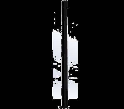 Poteau Droit 1500mm Coloris Noir Foncé