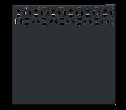 """Design """"SPACE"""" Semi-Ajouré 1750x1800mm"""