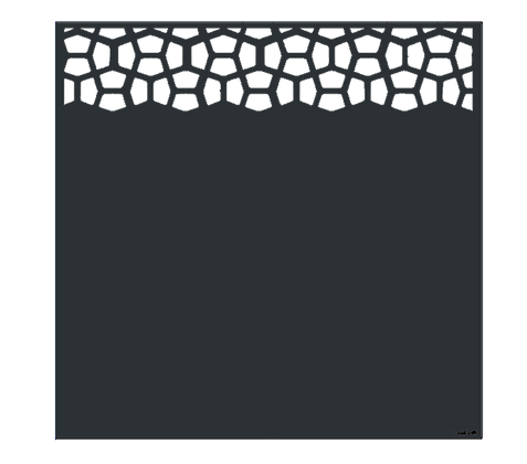 Design SPACE semi-ajouré  1750 x 1800 mm