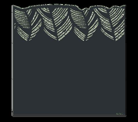 Design PALME semi-ajouré 1750 x 1800 mm