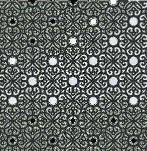Motif Marrakech - ajouré