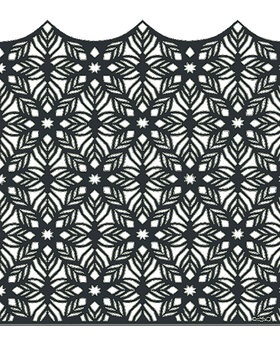 Medina ajoure - face -1750 x 1800 - Gris